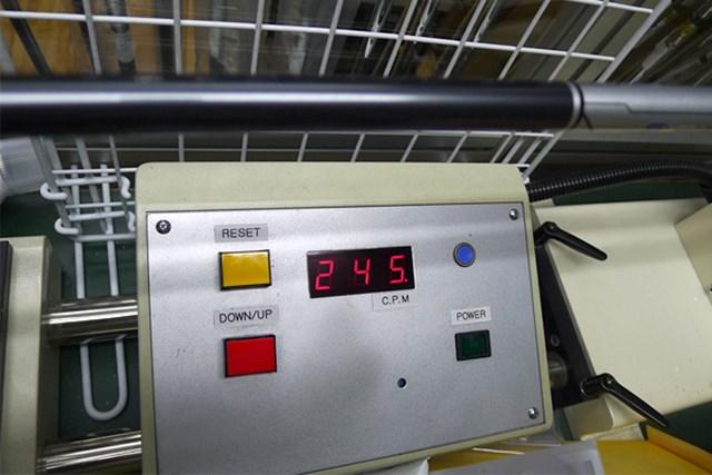 TM1-414(S)の振動数は245cpm。シャフト自体はそれほどパワーがなくても振っていける