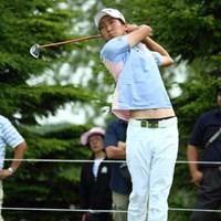 メンズのへそ出しはいただけない。 2014年 長嶋茂雄 INVITATIONAL セガサミーカップゴルフトーナメント 初日 重永亜斗夢