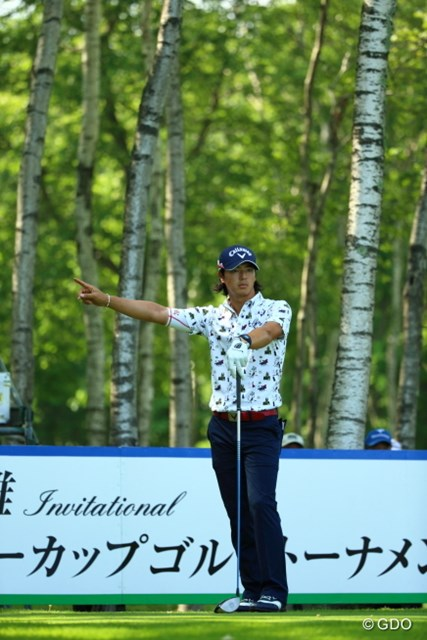 2014年 長嶋茂雄 INVITATIONAL セガサミーカップゴルフトーナメント 初日 石川遼 ショットは荒れてもショートゲームでスコアメーク。石川は首位とは4打差で2日目に入る