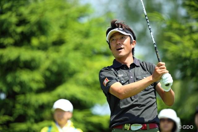 山下和宏は首位に1打差で最終日へ。北の大地で初タイトルを掴めるか