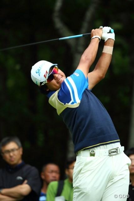 2014年 長嶋茂雄 INVITATIONAL セガサミーカップゴルフトーナメント 最終日 松山英樹 ショットは復調気配も、4日間を通して低迷したパットに苦言。松山英樹は17位で4日間を終えた