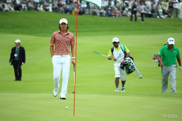 2014年 長嶋茂雄 INVITATIONAL セガサミーカップゴルフトーナメント 最終日 石川遼 通算11勝目を挙げた石川には、全英出場のチャンスが転がり込む可能性もあるが…