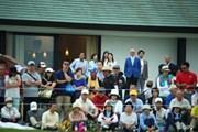 2014年 長嶋茂雄 INVITATIONAL セガサミーカップゴルフトーナメント 最終日 ギャラリー