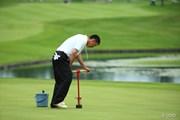2014年 長嶋茂雄 INVITATIONAL セガサミーカップゴルフトーナメント 最終日 管理課の方