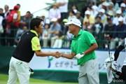 2014年 長嶋茂雄 INVITATIONAL セガサミーカップゴルフトーナメント 最終日 山下和宏 小田孔明