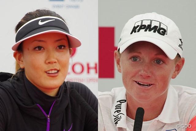 今、米国が最も注目する2人のゴルファー、ウィとルイス。大学が彼女たちをどう変えたのか? (撮影:Shizuka Minami)(「Pentax K-3」にて撮影)