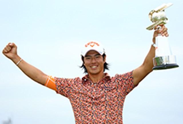 キャロウェイ契約、石川遼が2年ぶりの優勝