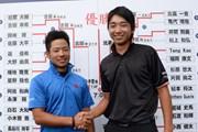 2014年 日本アマチュアゴルフ選手権 4日目 比嘉一貴、小木曽喬