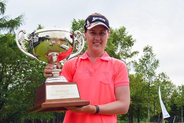オーストラリア出身のJ.スピーチリーがステップアップツアー初優勝を飾った※画像提供:LPGA