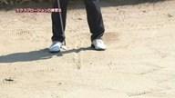 中井学のフラれるゴルフ Lesson.22 練習場でもできる!バンカーショット練習法
