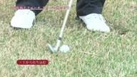 中井学のフラれるゴルフ Lesson.19 グリーン奥のラフからのアプローチ