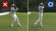 植村啓太のフィーリングゴルフ Lesson.45 ラウンド中のダフリを即効修正!その1