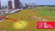オリンピックゴルフコース Hole 18