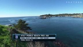 2018年 AT&Tペブルビーチナショナルプロアマ 初日 ハイライト