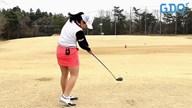 ドローを打つための左ひじの使い方 岡村優【女子プロ・ゴルフレスキュー】