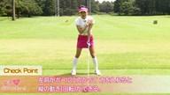 """一発で手打ちを直す""""肩入れ""""術 野田すみれ【女子プロ・ゴルフレスキュー】"""