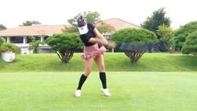 身長157cmでも377ydを飛ばせるグリップの握り方 押尾紗樹【女子プロ・ゴルフレスキュー】