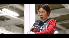 SIM2 MAX アイアンを西川みさとが試打「厚めだけどスッキリ」【クラブ試打 三者三様】