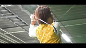 スリクソン ZX4 アイアンを西川みさとが試打「飛び姿が満点」【クラブ試打 三者三様】