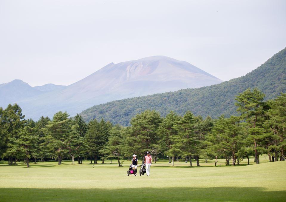 長野県・晴山ゴルフ場