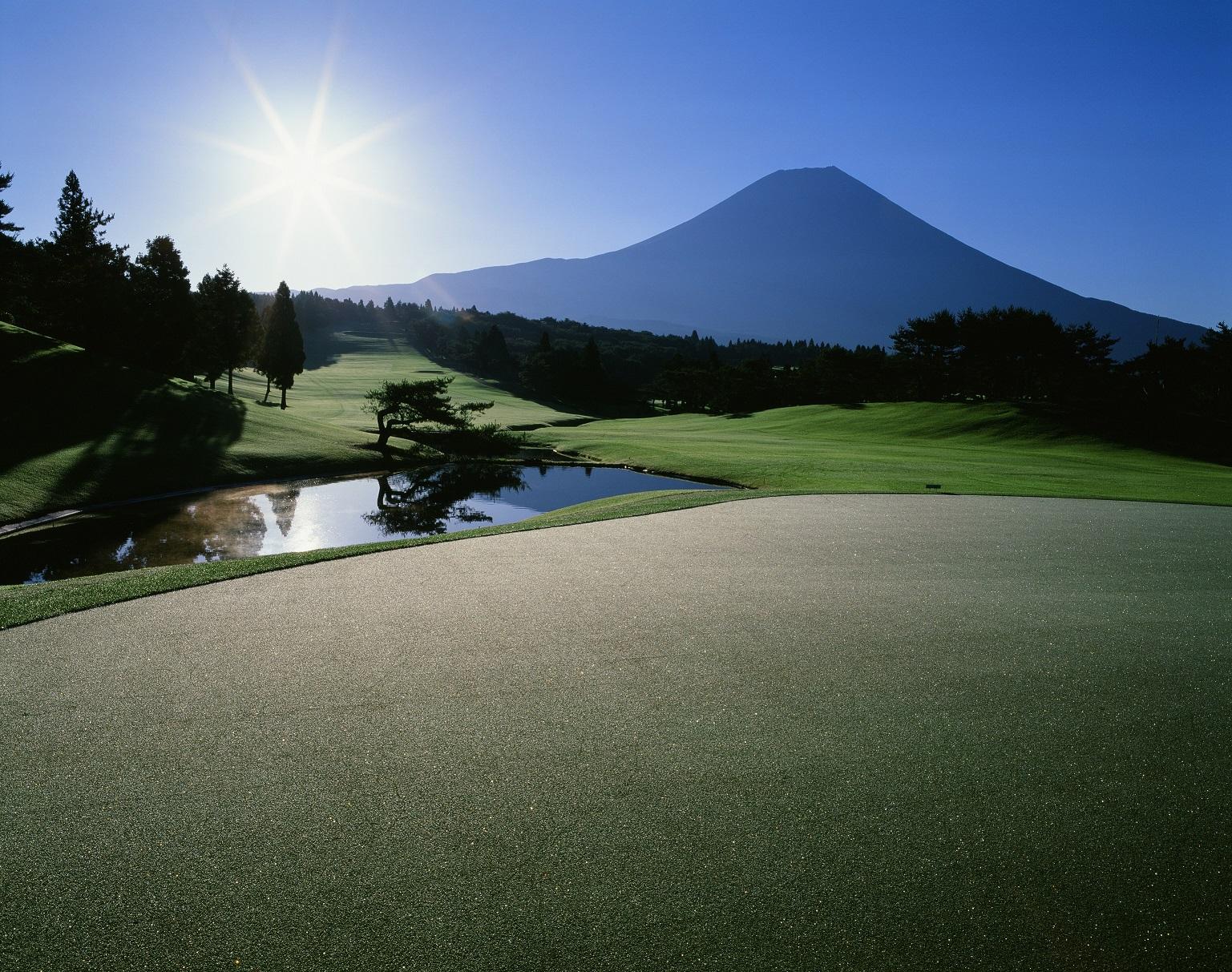 静岡県・朝霧ジャンボリーゴルフクラブ